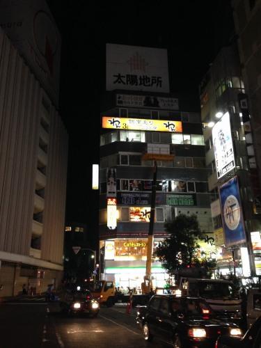 東京都渋谷区宇田川町壁面看板工事5